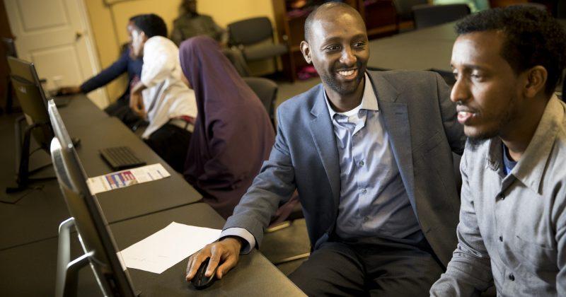 CSCM เข้าร่วมกิจกรรมล็อบบี้ของโซมาเลียที่ MN Capitol